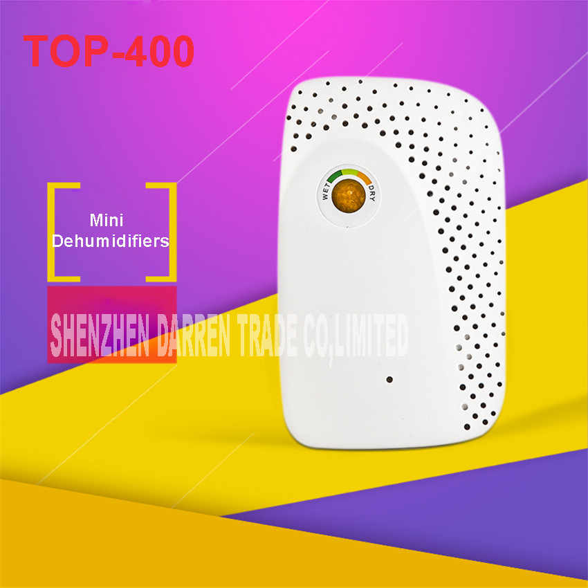 TOP-400 100-240V  Wireless Rechargeable Mini Dehumidifier Air Dryer For Home Office bathroom Trunk Box On Shoes cabinet 0.5L new and improved eva dry renewable mini dehumidifier renewable rechargeable 100% cordless mini dehumidifier no messy spills