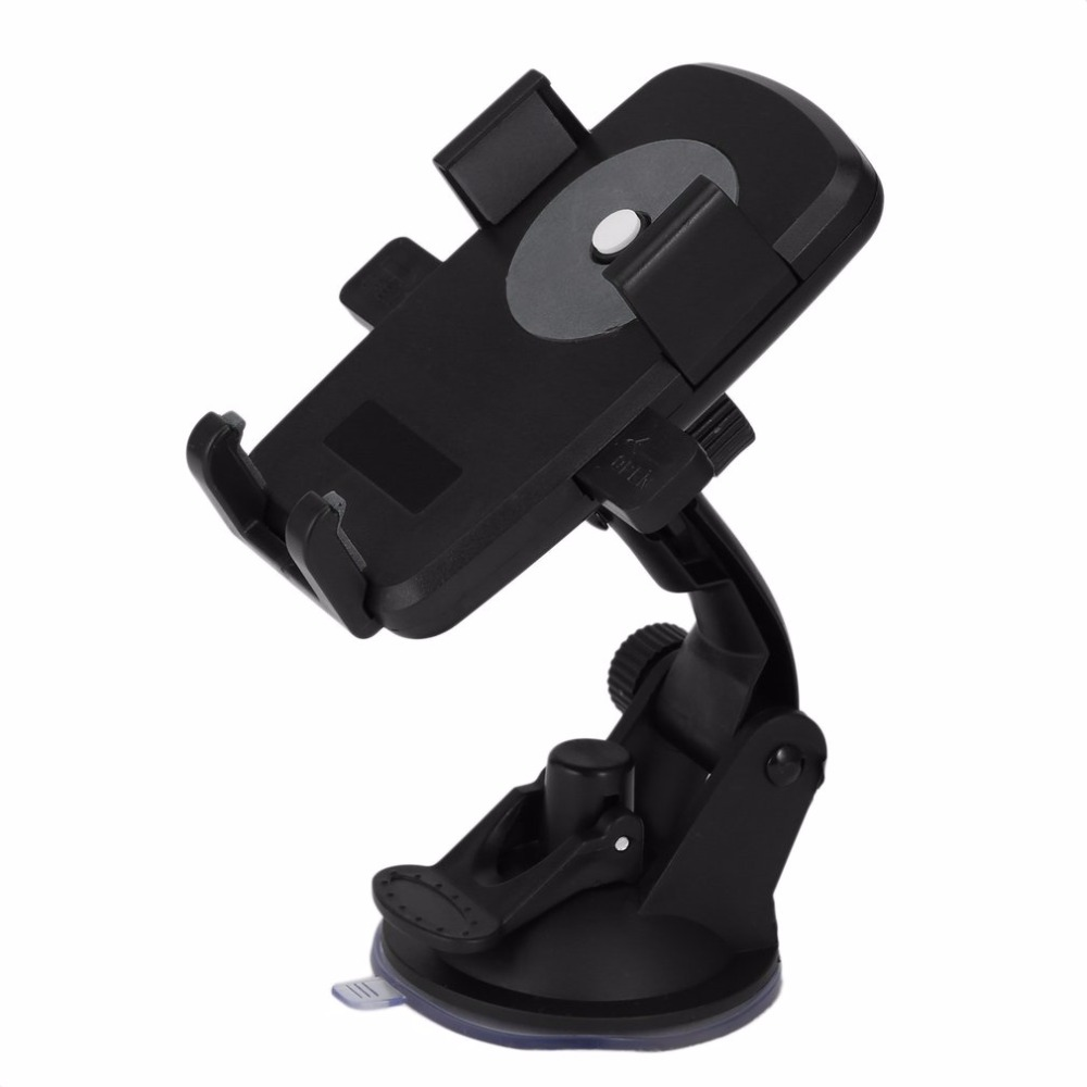 Universal Rotatable Strong Suction Mobile Phone Stand Holder Desktop Car Vehicles Cell Phone Racks Accessory
