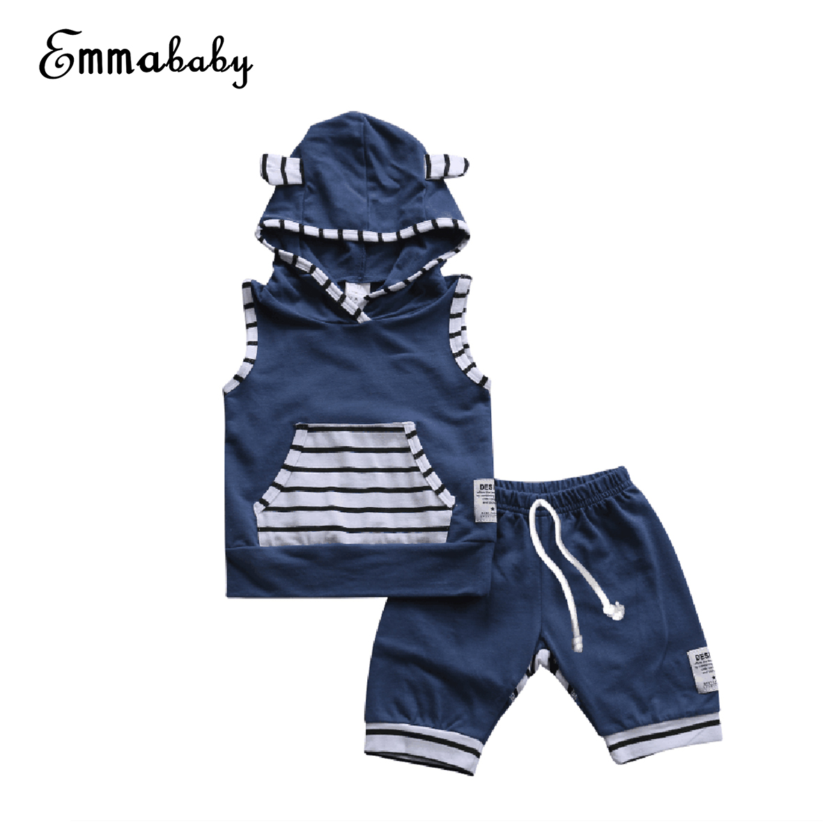 9cfc960c57 2018 New Summer Newborn Toddler Infant Baby Girls Cotton Clothes O-Neck Short  Sleeve T-shirt Tops Flare Pants 2Pcs Outfits Set