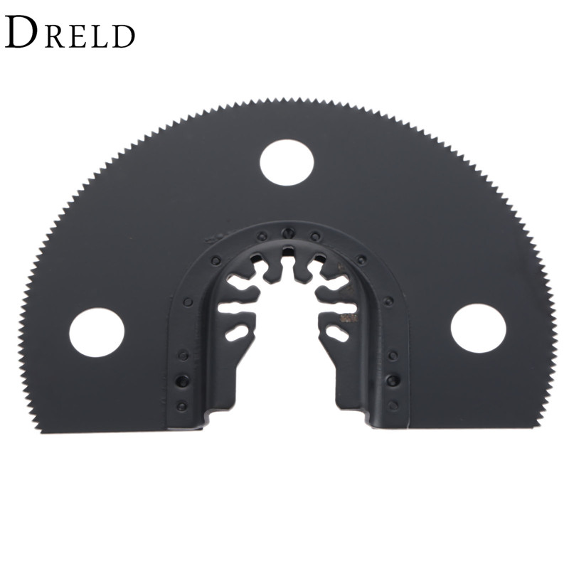 100mm Oscillating Multi Tool Semi Circular HCS Segment Saw Blade Wood Cutting Tools For Bosch Fein Dremel Renovator Power Tool