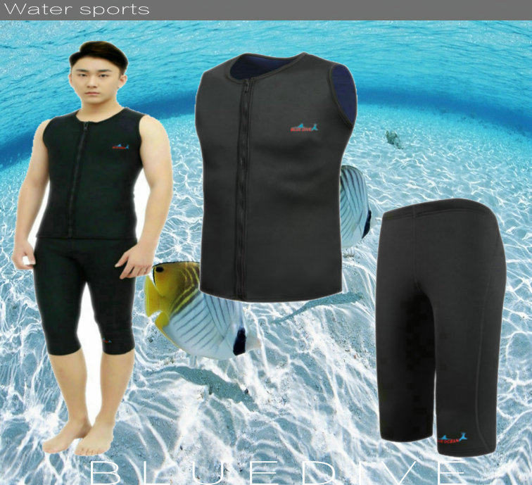 afd8659ee5c neoprene 3mm wetsuit triathlon suits spearfishing surf two piece diving  suit rash guard wet suit-in Wetsuit from Sports & Entertainment on  Aliexpress.com ...