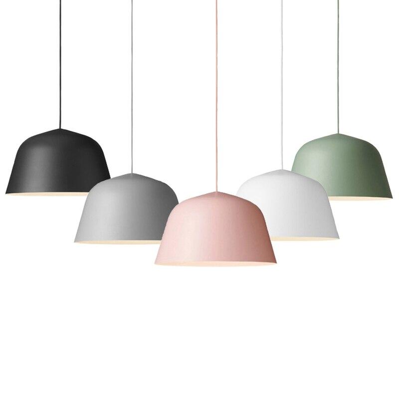 Moderne Simple E27 Suspendus et Suspensions AC110V/220 v pour Café Bar Éclairage Décoratif Suspension Luminaires Pendentif lampe