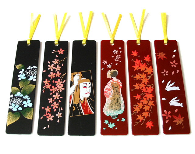 Lacquer lacquer painting bookmark hot-selling