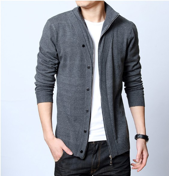 hot New Fashion 2015 New autumn mens sweaters clothing slim ...