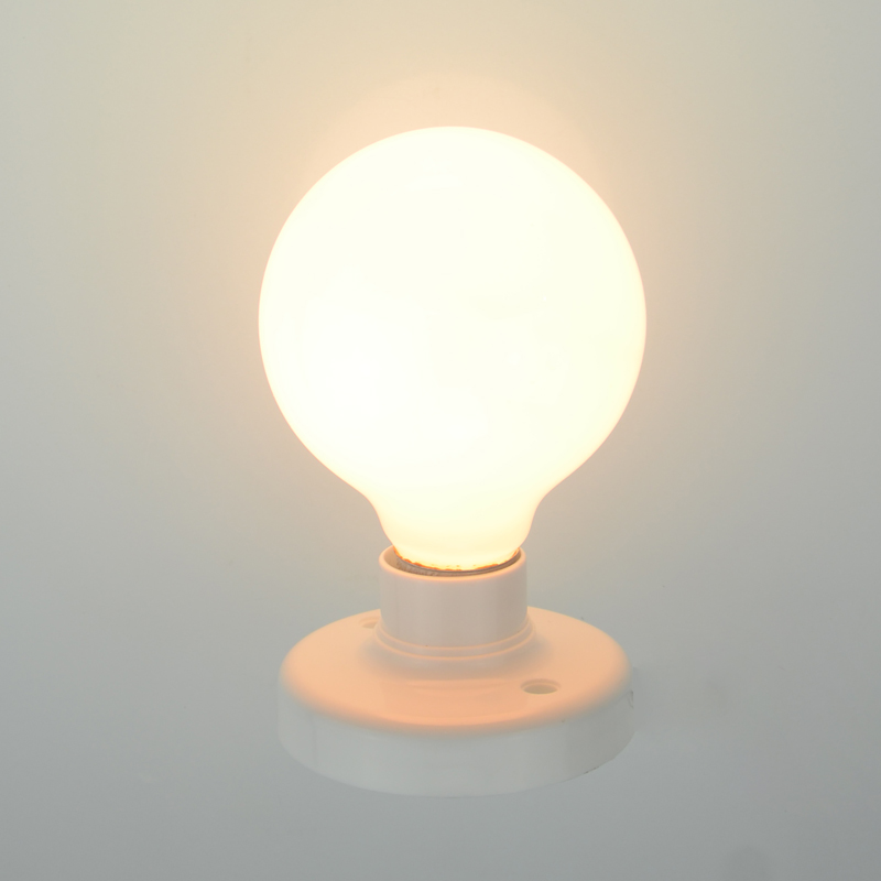 Frosted Light Bulbs >> Us 6 8 Vintage Edison Frosted Light Bulb Tungsten Wire Light Source Aliuminum Lamp Holder Incandescent Bulbs 40w 220v E27 In Incandescent Bulbs From