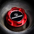 МОТОРНОЕ Масло Cap MAZDASPEED эмблема Красный Алюминия для MAZDA RX7 RX8 323 BP FAMILIA 1.8L PROTEGE FSDET MIATA MX5 MX-5 стайлинга автомобилей