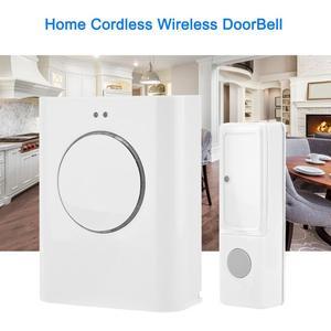 Image 5 - Sonnette étanche sans fil 433MHZ sonnette 200M à distance maison MP3 télécharger sans fil porte cloche anneau cloche