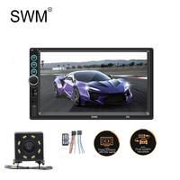 SWM Radio 2 Din Car Autoradio Mulimedia Player MP5 Player 3 Screens Display Mirror Link Car Radio FM AUX Bluetooth Auto Radio S6