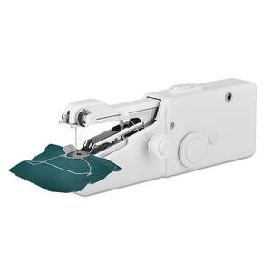 Mini Portable Handheld Sewing Machines Stitch Sew Needlework Cordless Clothes Fabrics Electric Sewing Machine Repair Clothing