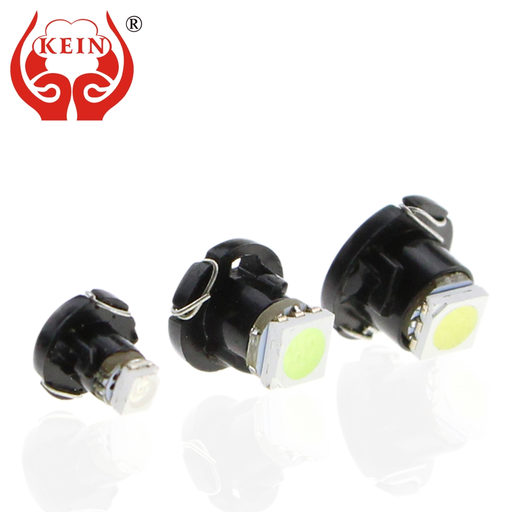 KEIN 1pcs <font><b>T3</b></font> T4.2 T4.7 car LED Neo Wedge Switch Radio Climate Control Bulb Instrument Dashboard Dash Indicator Ac Panel Lights image