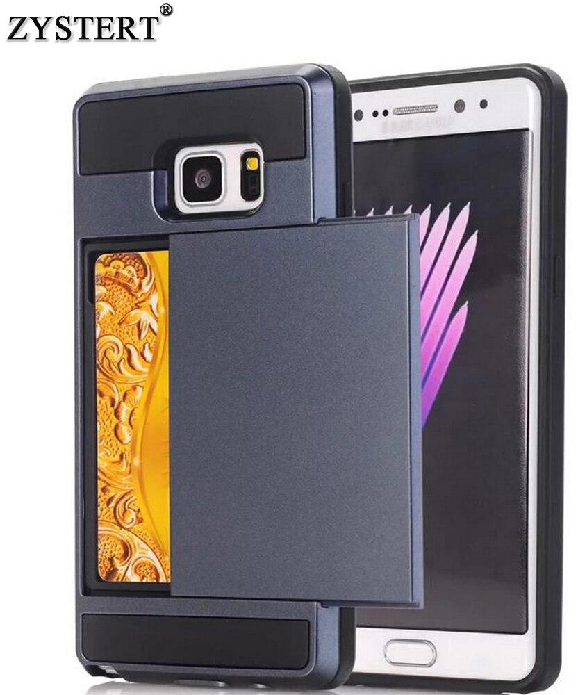 Для Samsung Galaxy S8 плюс Примечание 8 кошелек противоударный чехол Гибридный телефон слайд карты Чехол для Samsung Galaxy S8 случае