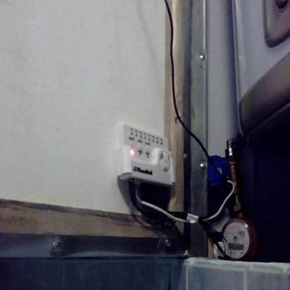 日高有線 WLD-806 警告音声記録ホームセキュリティシステム水漏れ停止検出器センサーセキュリティ BSP NPT (1 ''* 1 個)