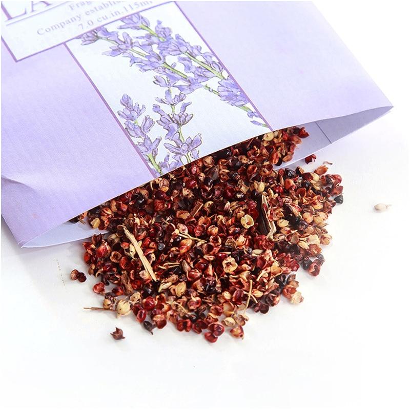Aromatherapy Natural Smell Incense Wardrobe Sachet Air Fresh Scent Bag Perfume Lavender Rose Jasmine Lily Flower lavender Lemon  (19)