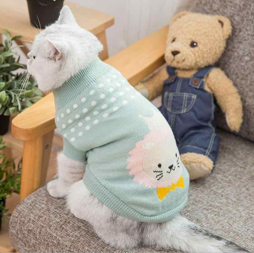 подробнее обратная связь вопросы о Pet Cat свитер мультфильм милый