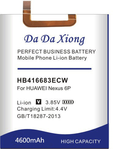 Image 2 - Da Da Xiong 4600mAh HB416683ECW Battery for Huawei Google Ascend Nexus 6P H1511 H1512-in Mobile Phone Batteries from Cellphones & Telecommunications