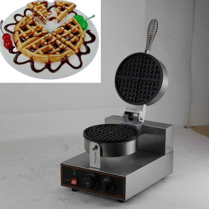 actory Wholesale Electric Rotating Commercial Waffle Maker 220v Waffle Maker Price Belgian Waffle Maker directly factory price commercial electric double head egg waffle maker for round waffle and rectangle waffle