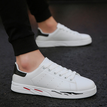 2018 new white canvas shoes for men breathable mens casual  homme male adult 5