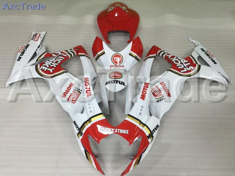 Мотоцикл Обтекатели для Suzuki GSXR системы GSX-Р 600 750 GSXR600 GSXR750 2006 2007 К6 АБС-пластик инъекции обтекатель кузова комплект Красный