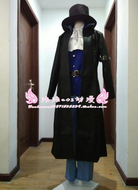 2016 One Piece sabo Cosplay Costume 7 Years Later Custom Made Any Size