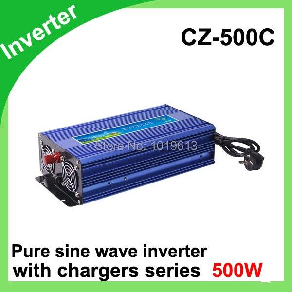DC12V to AC 220V 500W USB Car power inverter Adapter Automatic Thermal Shutdown Power Inverter