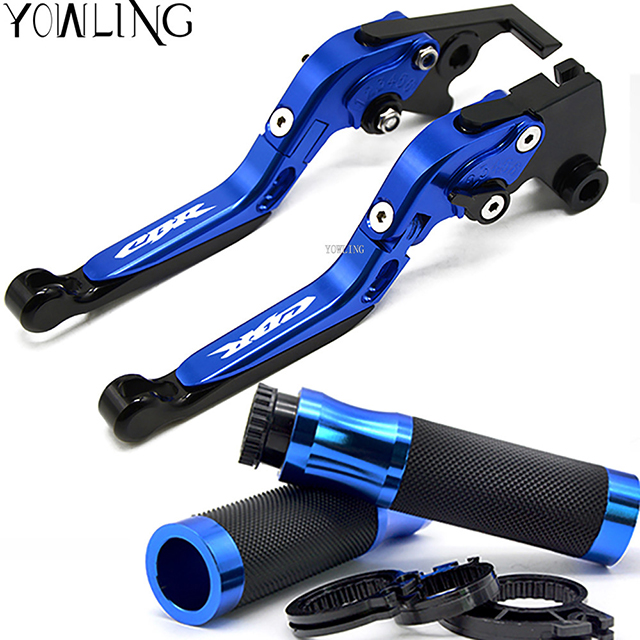 Motorcycle Accessories Folding Extendable Brake Clutch Levers handle grips For HONDA CB500F CB500X CB 500F 2013 2014 2015 2016 for honda cb500x cb500f cb300f cb400f motocycle adjustable folding brake clutch levers handlebar hand grips
