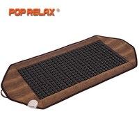 POPRELAX Корея матрас ортопедический Германий турмалиновая грелка Pad коврик из камней облегчение боли физиотерапия Термальность матрас