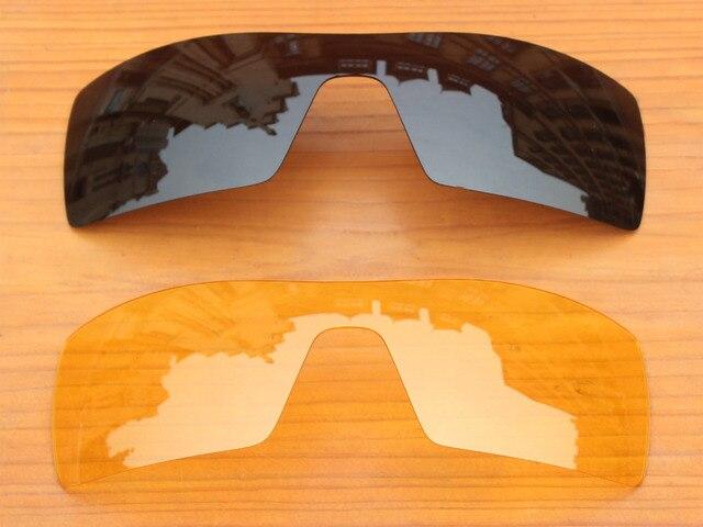 0f9d5577f77f1 Black   Amarelo Cristal 2 Peças de Substituição de Lentes Para óculos de Sol  da Plataforma