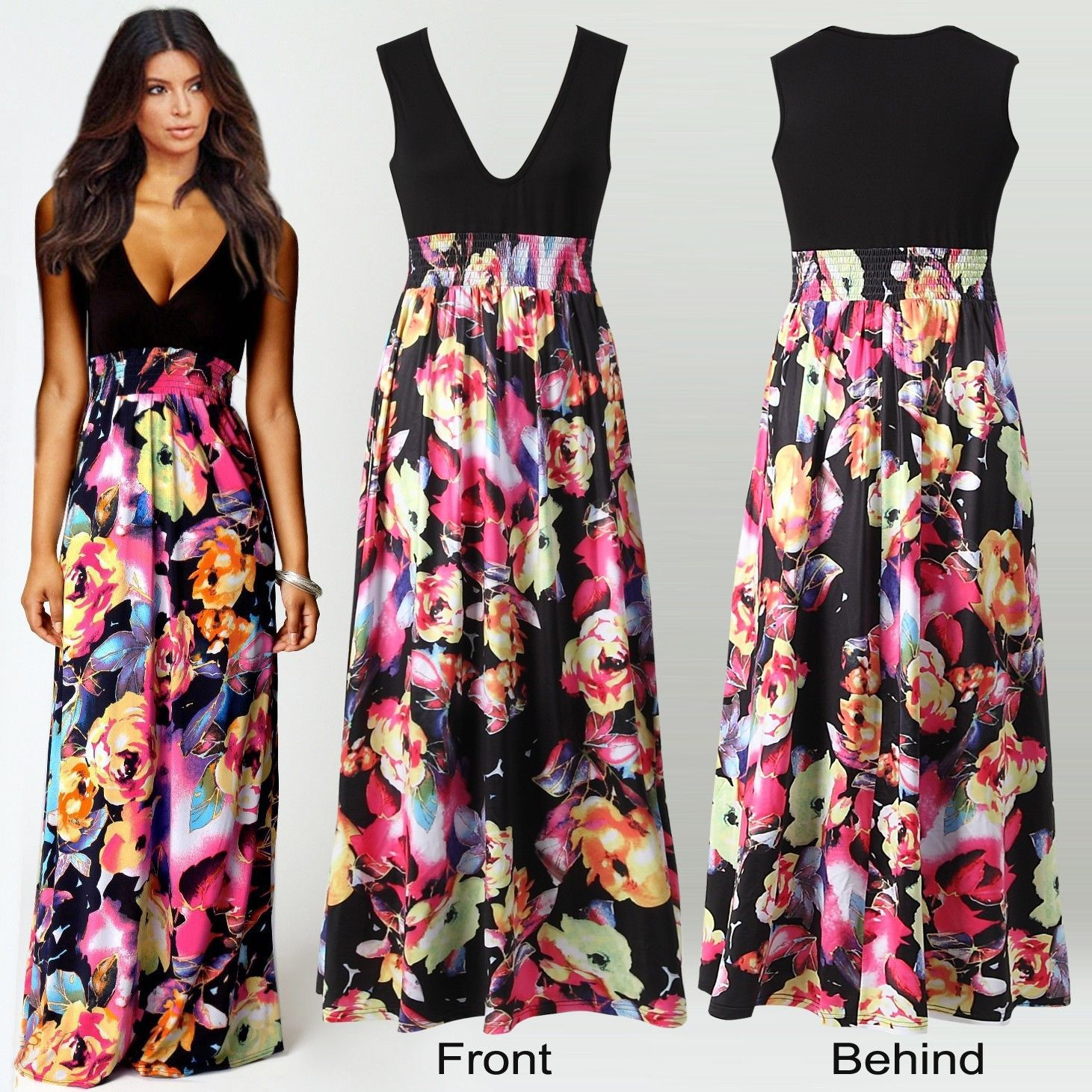 Summer Long Maxi Dresses