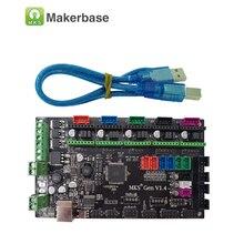 3D контроллер принтера Главная плата МКС Gen V1.4 Совместимость с Ramps1.4/Mega2560 R3 поддержка a4988/DRV8825/TMC2100