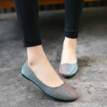 New Spring and Autumn Fashion Big Yards Women's Singles Shoes Flat  Pu Leather Shoes, Casual Shoes Flat Shoes