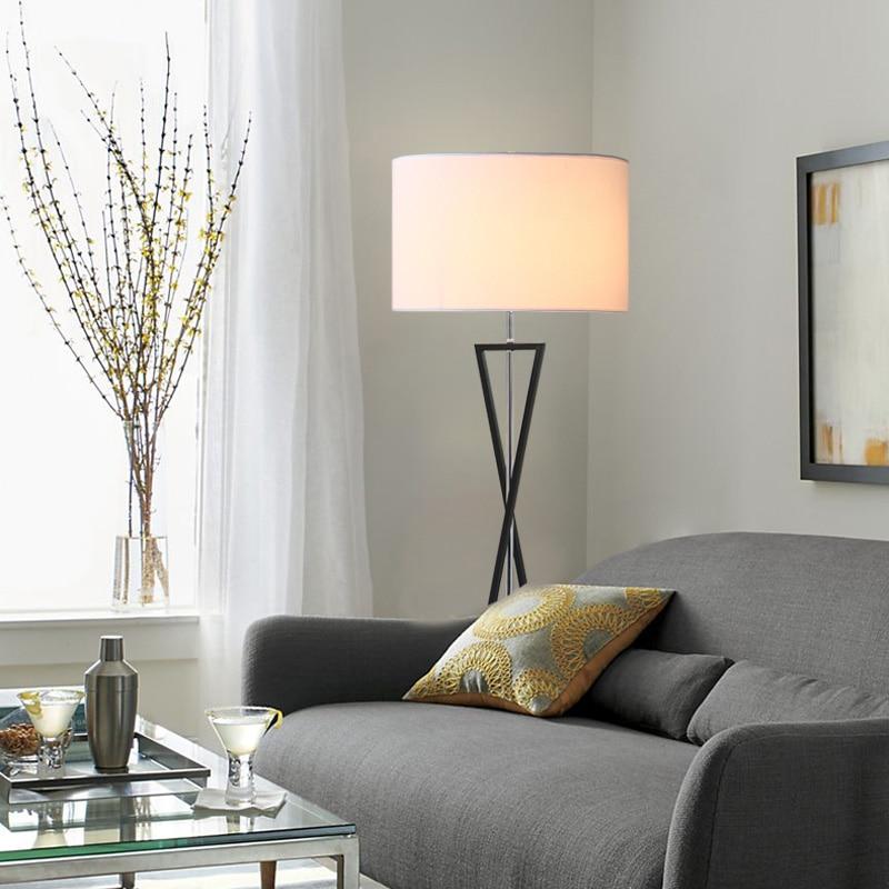 Modern Minimalist Industrial LED Floor Lamp Standing Lamp for ...