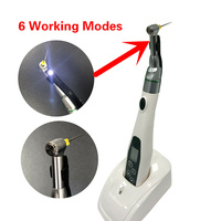 Dentist Dentistry Equipment Dental 16:1 Reduction Contra Angle Handpiece Push Head for Cordless Endodontic Endo Motor With Led