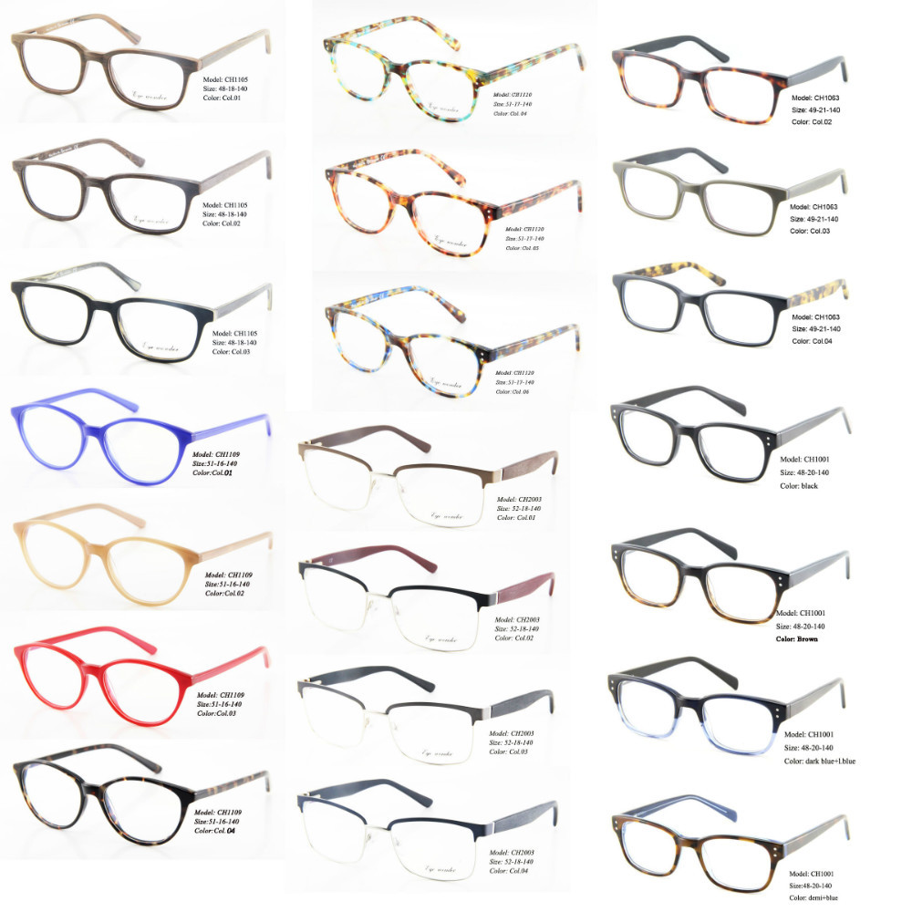 Wholesale Women Vintage Eyeglasses Frame Retro Eyewear -5356