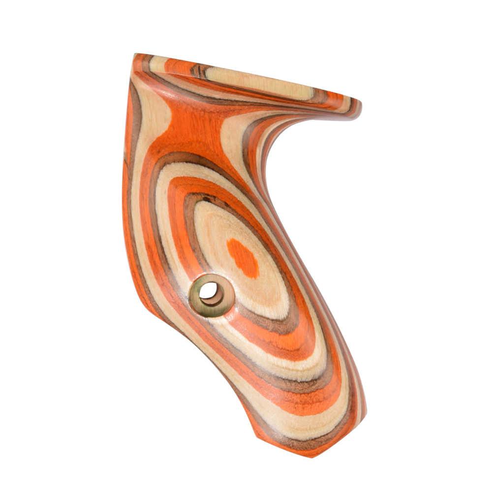 """Agarres de madera arco de tiro con arco para 17 """"ILF arco recurvo tradicional Riser mano derecha"""