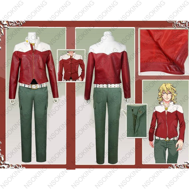 New anime Tiger & rabbit  Barnaby Brooks Jr. cosplay costume customize