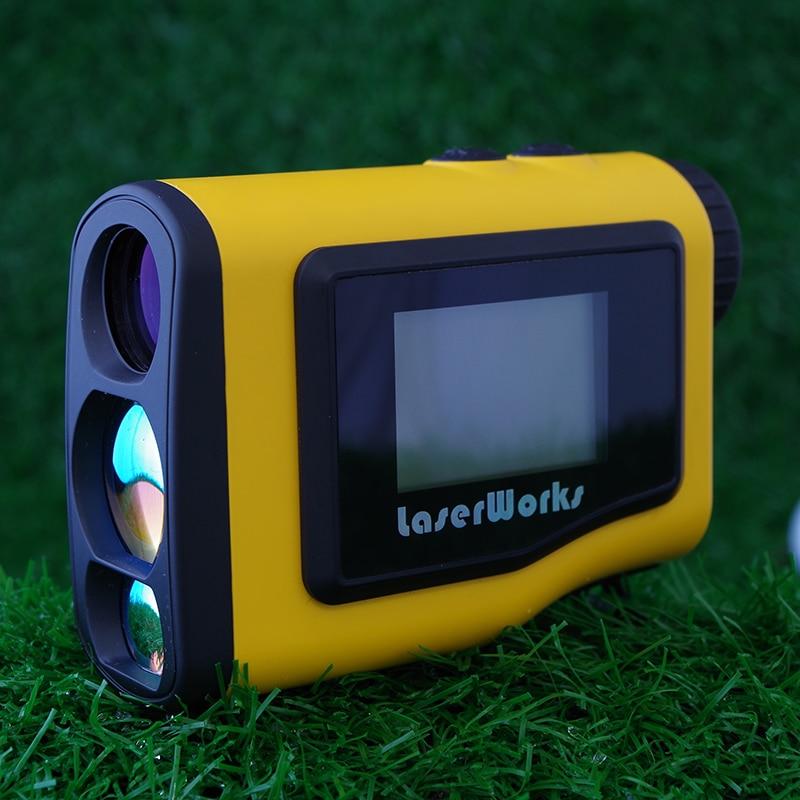 Telémetro de golf 600m pantalla LCD portátil de alcance telescopio - Instrumentos de medición - foto 3