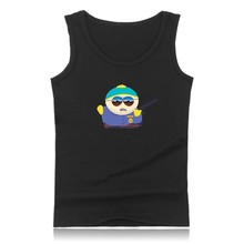Summer Vest South Park Tank Top Men Bodybuilding And Plus Size South Park Exercise Workout Tank Tops Sherlock Logo Black Clothes