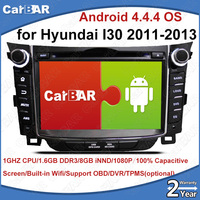 C100 Android 8.0 Car DVD GPS Radio Audio Navigation Player for Hyundai I30 2011 2013 SD USB IPOD WIFI Support 3G DVR OBD