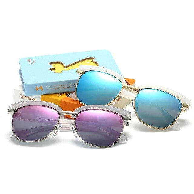 eafa0e537c3 Retro Vintage Children Round Pink Sunglasses Polarized Boys Girls Lunettes  Sun Glasses Luxury Brand Kids Baby