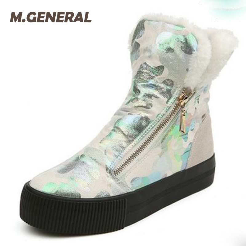 Women Snow Boots Winter Warm Boots Casual Soft Low Top Flat Fashion Ankle Boots Women Winter Warm Shoes with Zipper 6e80 e lov women casual walking shoes graffiti aries horoscope canvas shoe low top flat oxford shoes for couples lovers