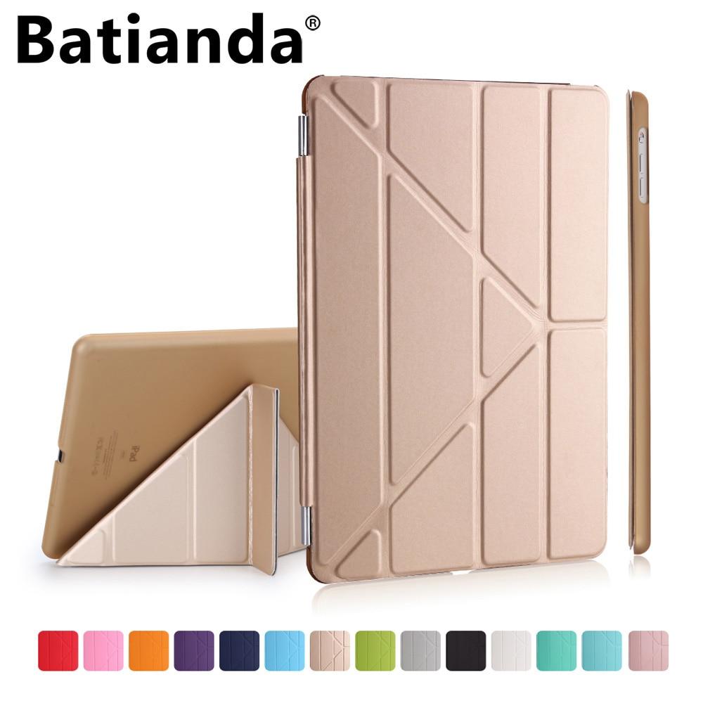 Batianda for Apple iPad 2 3 4 Case Multi-Stand Smart Case Cover for iPad 4th 3th 2th Generation (Automatic Wake/Sleep Feature)