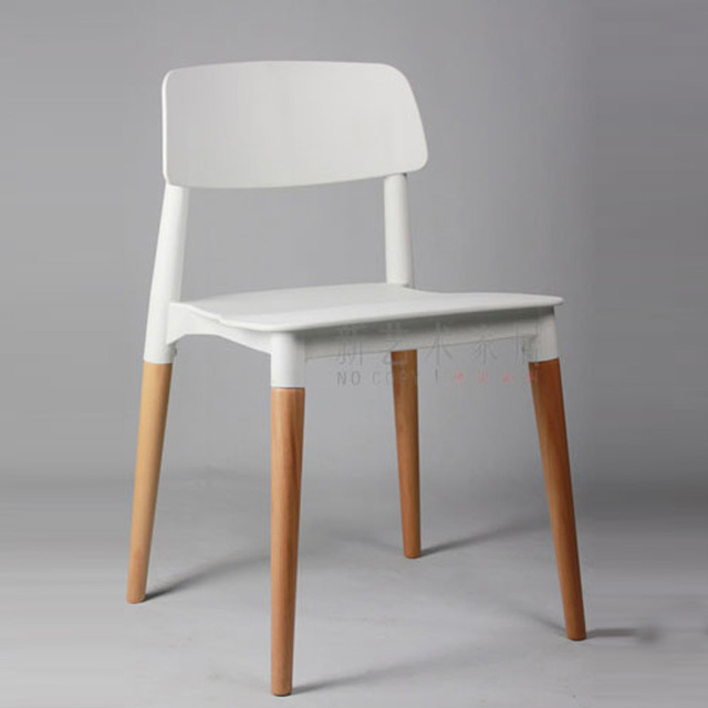 Fashion Designer Wood Chair Wit Low Back Chair Dining Chair Dining