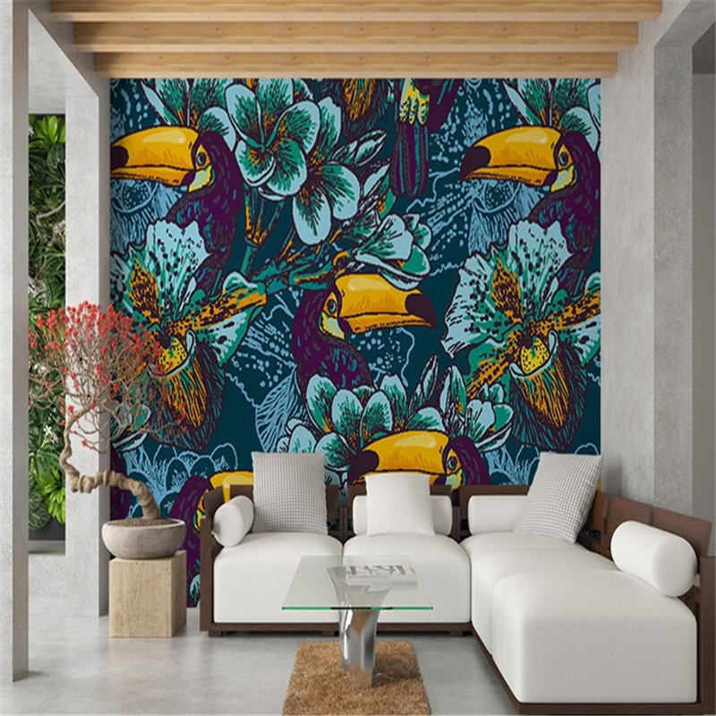 custom modern 3d effect photo wallpaper bedroom living room decorating background birds wall mural kids room vintage wallpaper custom 3d high quality modern photo wallpaper bedroom living room large background wall mural romantic purple avender wallpaper