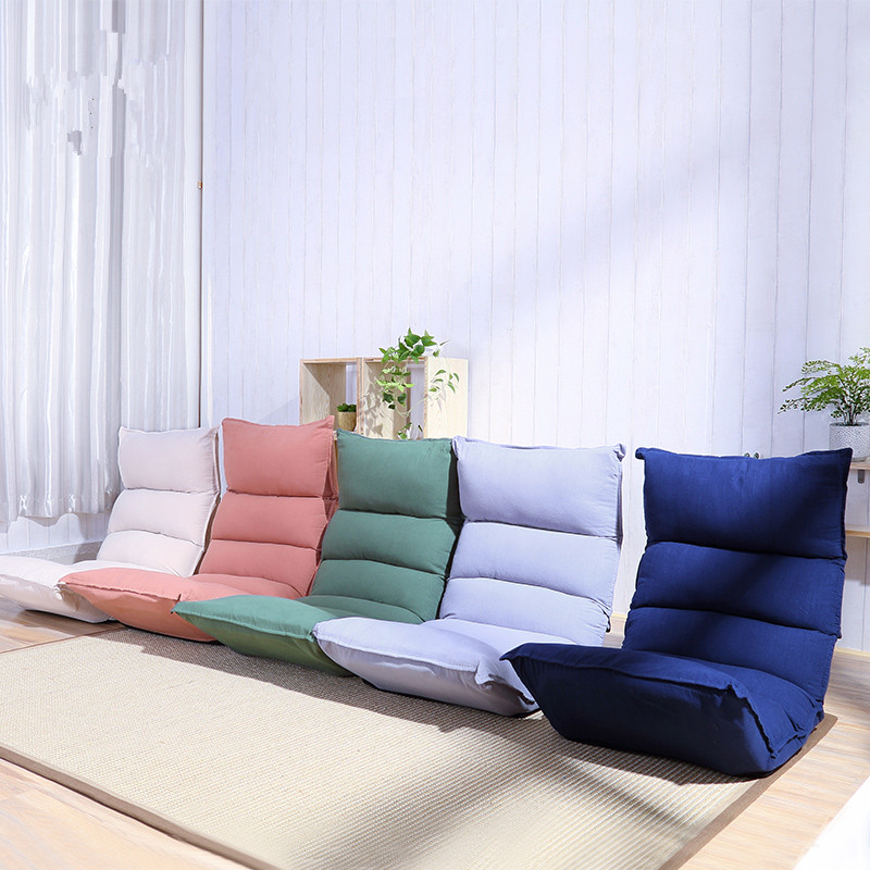Sleep Chaise Floor Seating Living Room Furniture Relax Japanese Sofa Chair 5 Position Adjustable Reclining Chaise Lounge Daybed
