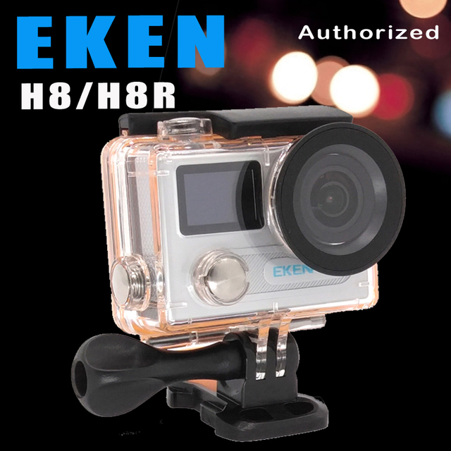 "Action camera EKEN H8R/H8 Ultra HD 4 K WiFi 2.0 ""170D lente Capacete Cam subaquática à prova d' água Esporte câmera"