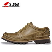 men's genuine leather tooling ankle boots for men casual fashion shoes botas eur size:38-45