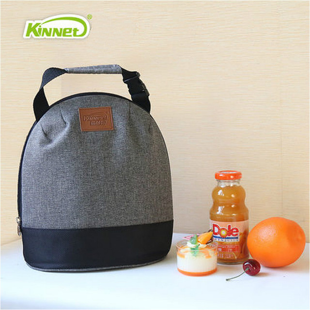 2016 Hot New Functional Bags Portable Canvas Lunch Thermal Cooler Picnic Office Carry