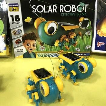 Solar Power Transformation Robot Kit  4