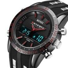 Top Military Watches Men Dual Display Waterproof LED Digital Sports Wristwatches Luxury Brand Relogio Masculino Analog Clock Man