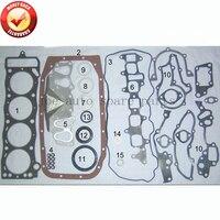 22R 22RE 22REC junta Do Motor Completo conjunto kit para Toyota Land cruiser/4 runner/Celica/Hilux VW taro 2.4L 84 05 50099300 04111 35070|full gasket set -